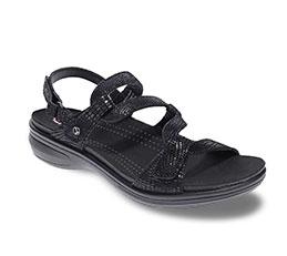 revere sandal black