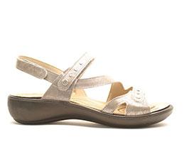 romika sandal - metallic